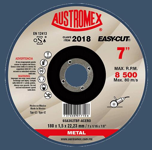 "DISCO C-2018 CTE METAL 7""X1/16""X7/8"" AESY-CUT"