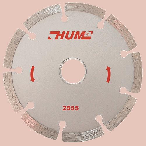 """DISCO C-2555 DIAMANTE 4 1/2"""" CORTE SEGMEN """"HUM"""" AUSTROMEX"""