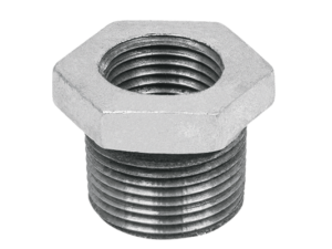 "REDUCCION BUSHING GALVA 1 1/4"" A 1/2"""