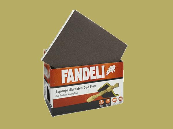 LIJA ESPONJA18446 G-100 DUO FLEX FANDELI