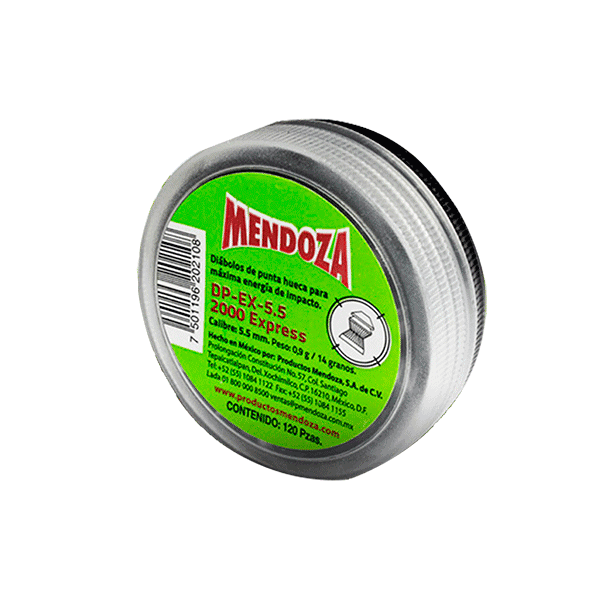 DIABOLO 5.5MM EXPRESS C/120PZ DPEX-5.5 VERDE MENDOZA