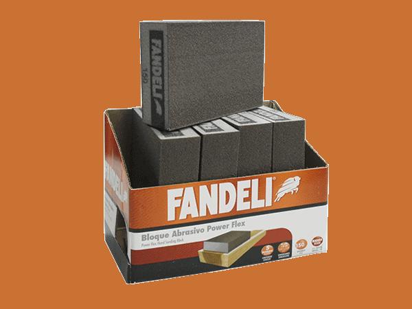 BLOQUE ABRASIVO 13128 POWER FLEX G-150 FANDELI