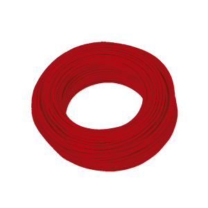 CABLE ELECTRICO THW 1 x 10 ROJO CDC