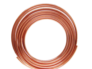 "TUBO COBRE FLEXIBLE TIPO ""U.G."" 5/16"" x 18mt IUSA"
